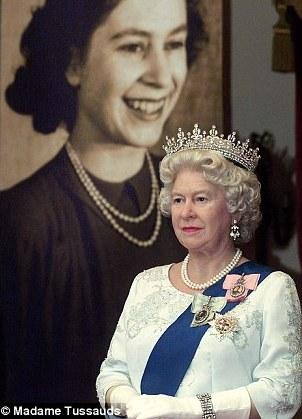 New Queen Elizabeth Wax Figure at Madame Tussauds