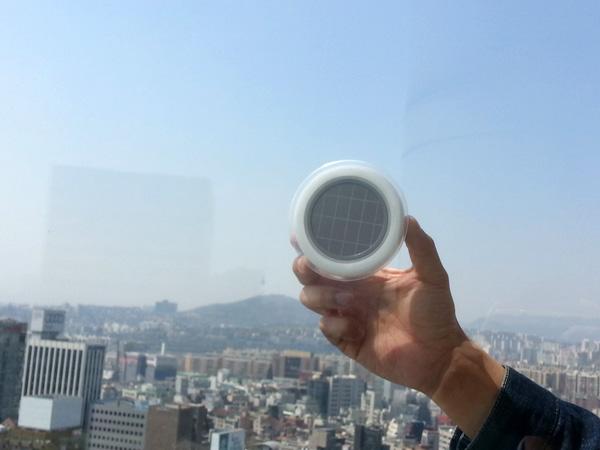 Window Socket: Solar Powered Plug Sticks To Window