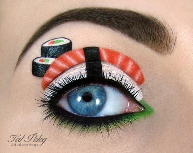 Amazing Eye Makeup Art by Tal Peleg 2Eye Makeup Art