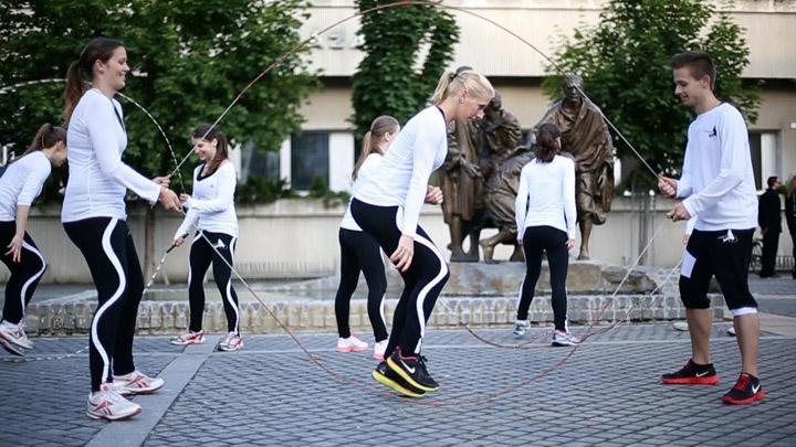 Hungarian Rope Skipping Team