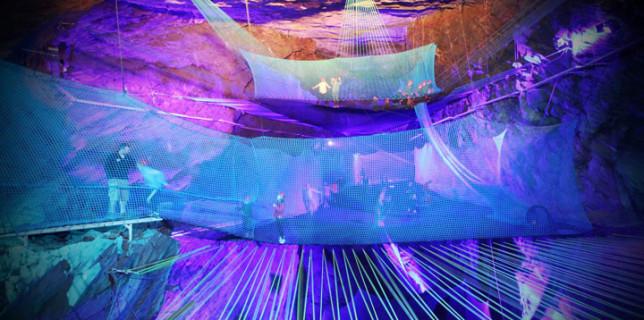 World's Largest Underground Trampoline 2