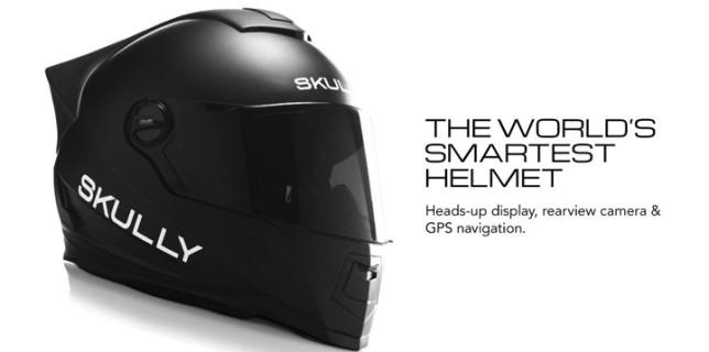World's Smartest Motorcycle Helmet
