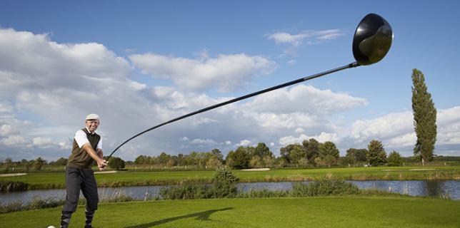 Karsten Maas Worlds Longest Usable Golf Club
